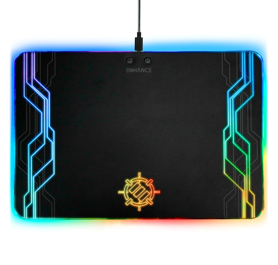 Image 661828.jpg , Product 661-828 / Price $49.99 , Enhance Gaming LED Peripheral Mouse Pad  on TSC.ca's Electronics department
