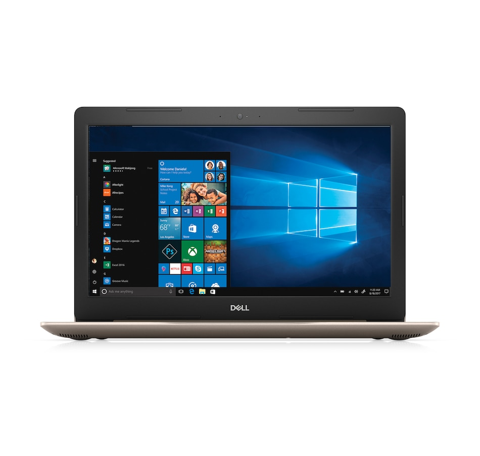 """Image 661889_GLD.jpg , Product 661-889 / Price $829.99 , Dell FHD 17"""" Notebook AMD Ryzen 12GB 1TB HDD 2-Year Tech Support from Dell on TSC.ca's Electronics department"""