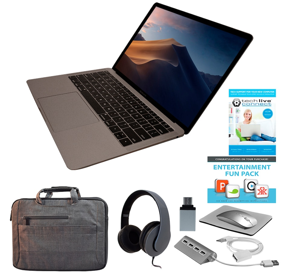 "Image 661944_GYGY.jpg , Product 661-944 / Price $1,819.99 , All-New Apple MacBook Air 13"" Retina 128GB Laptop with Accessories from Apple on TSC.ca's Electronics department"