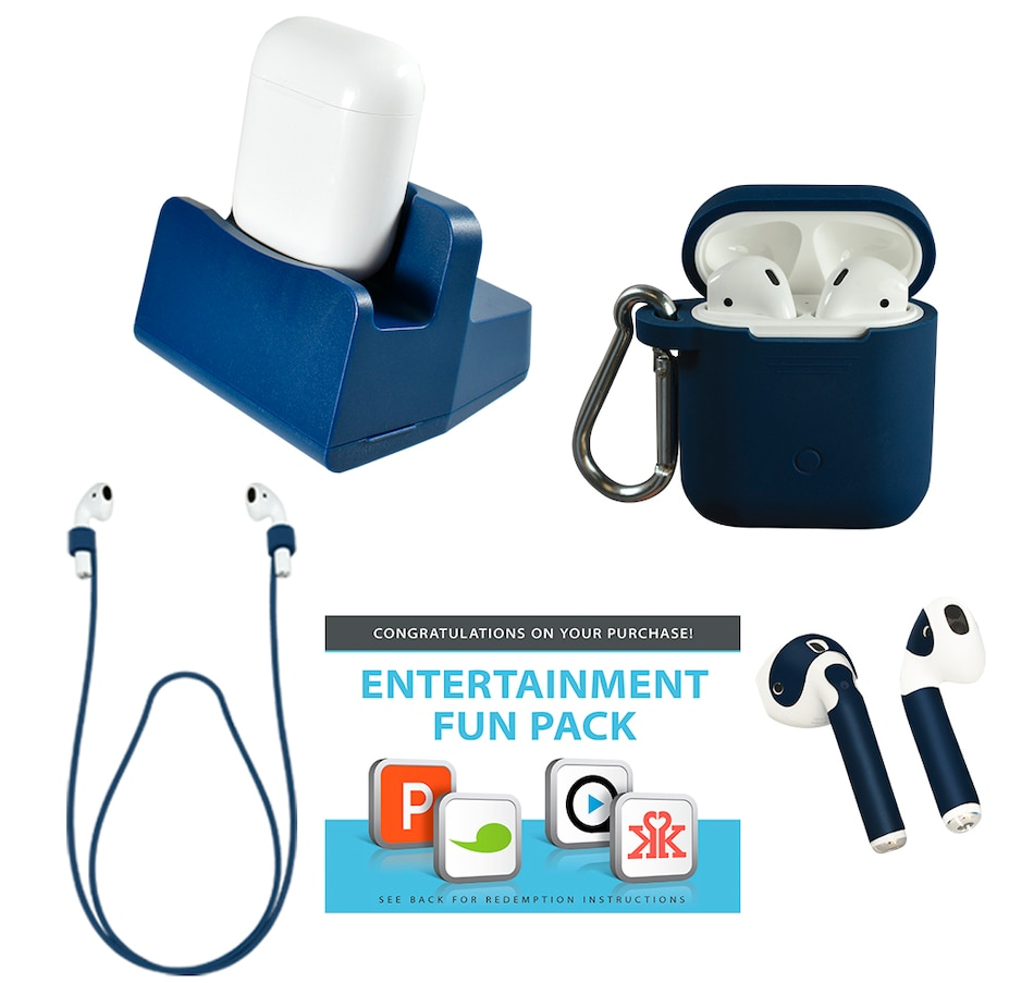Image 661945_BLU.jpg , Product 661-945 / Price $359.99 , Apple AirPods Truly Wireless Earphones with Charging Case and Accessories from Apple on TSC.ca's Electronics department