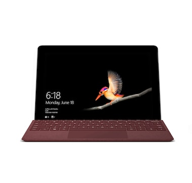 "Microsoft Surface Go 10"" 64 GB Windows 10 S Intel Pentium Tablet with Signature Type Cover and Office Home and Student"