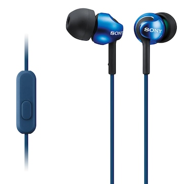 Sony MDREX110AP/B In-Ear Headphones with Microphone