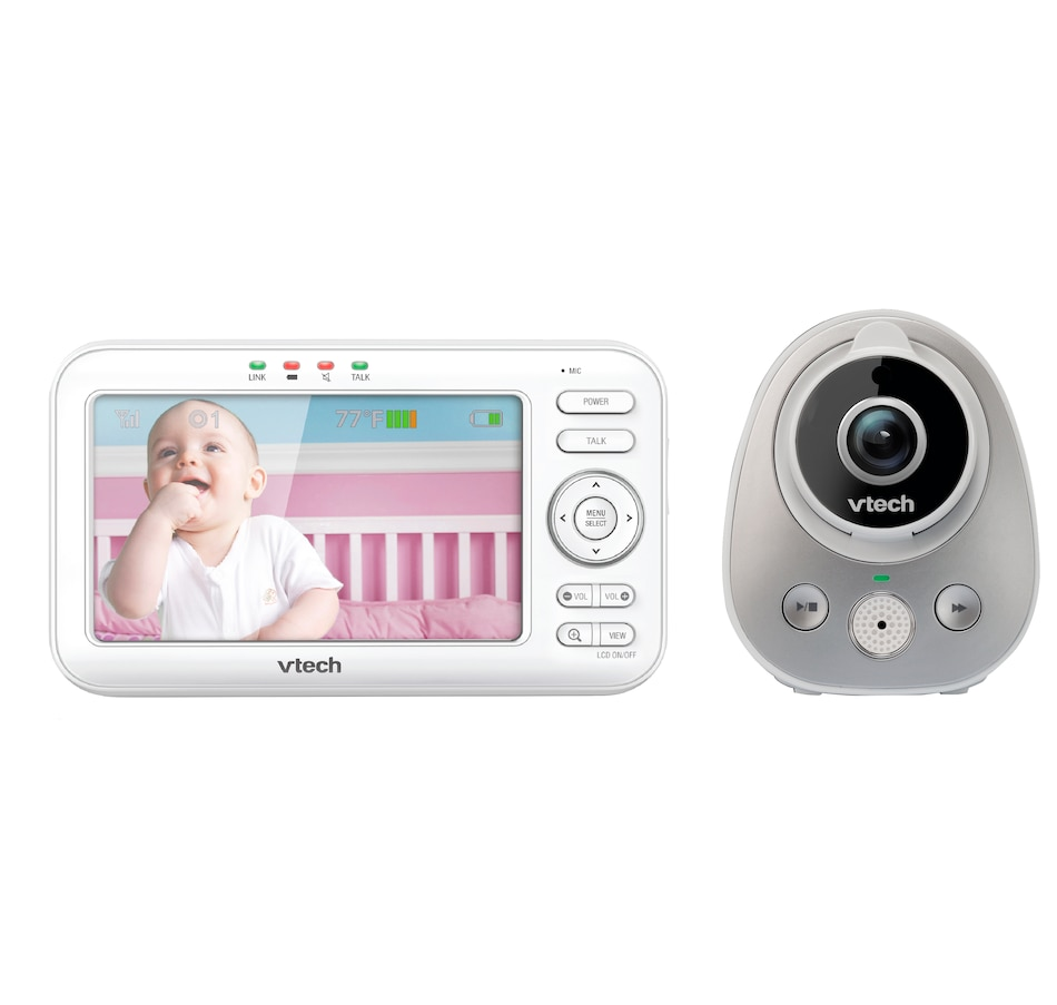 Image 662050.jpg , Product 662-050 / Price $169.99 , VTech VM352 Full-Colour Video Monitor with Wide-Angle Lens and Standard Lens from VTech on TSC.ca's Electronics department