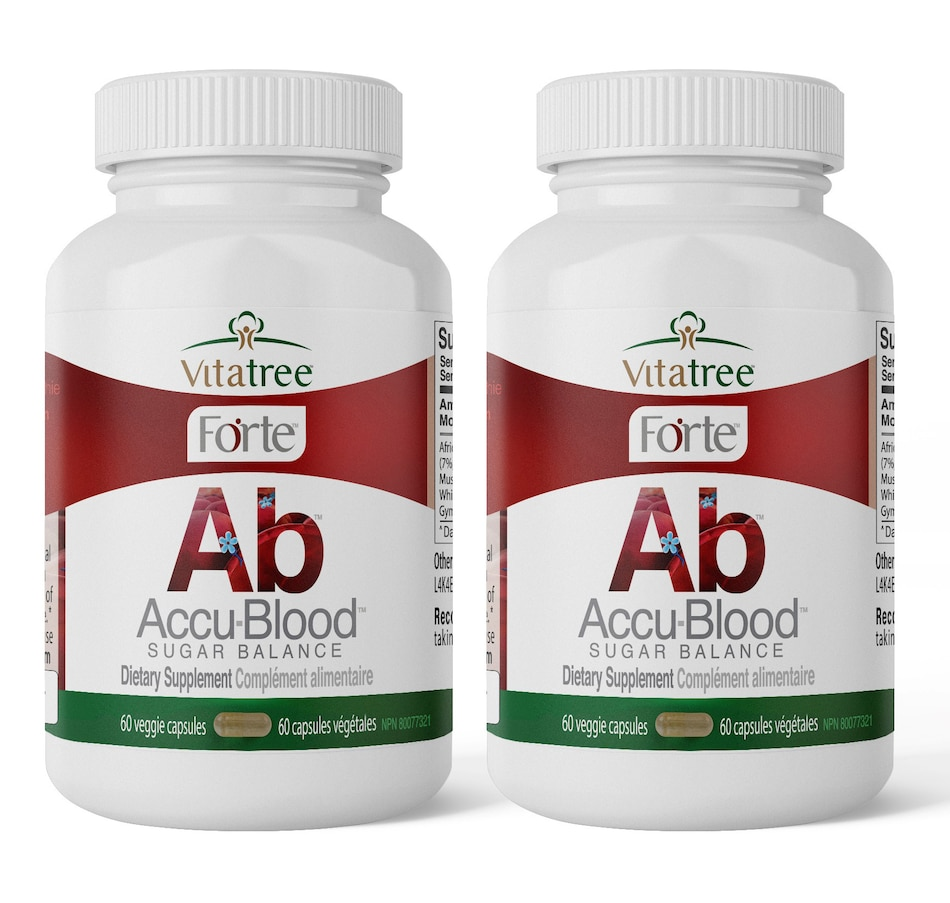 Image 662146.jpg , Product 662-146 / Price $46.99 - $93.05 , VitaTree 60-Day Accu-Blood Sugar Balance from VitaTree Nutritionals on TSC.ca's Health & Fitness department