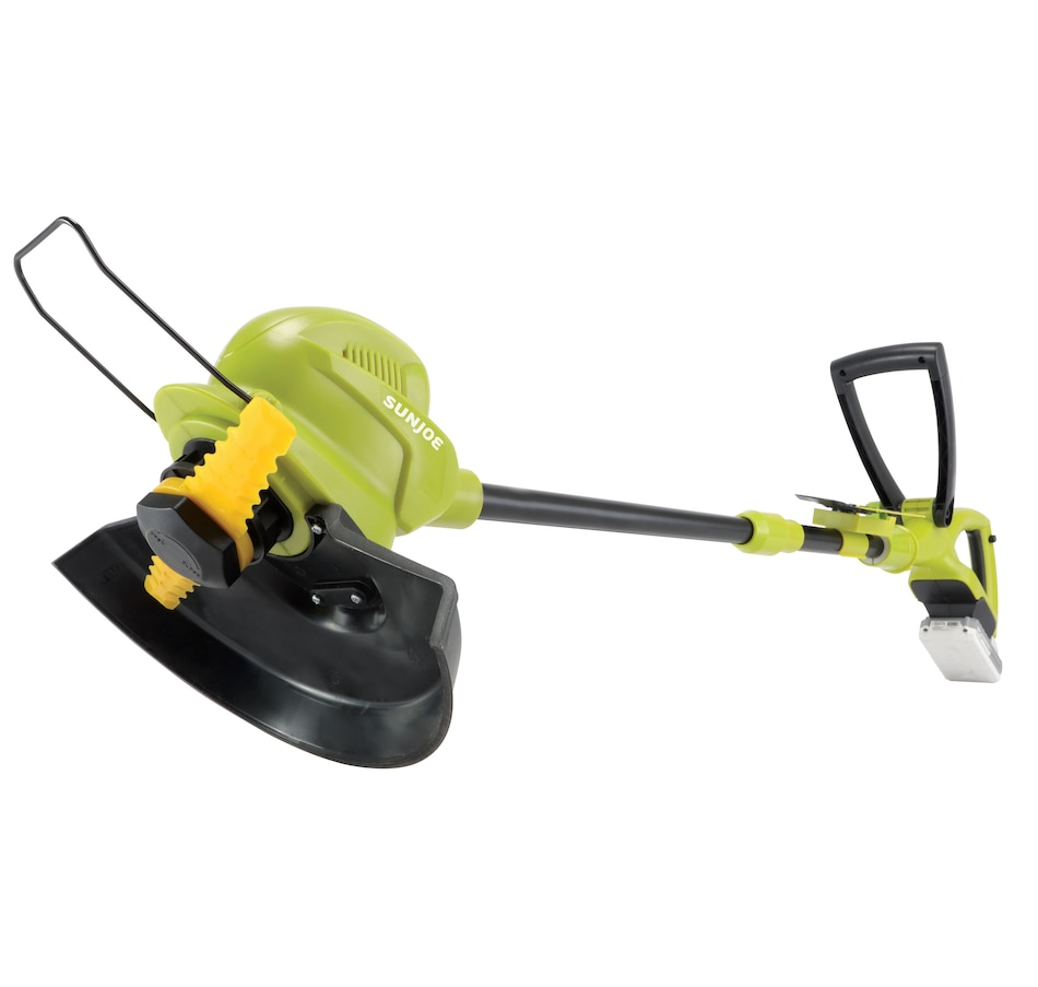 """Image 662422.jpg , Product 662-422 / Price $169.99 , Sun Joe 24V-SB10-LTE 24-Volt iON+ Cordless SharperBlade Stringless Lawn Trimmer Kit 10"""" with 2.0-Ah Battery and Charger from Snow Joe & Sun Joe on TSC.ca's Home & Garden department"""