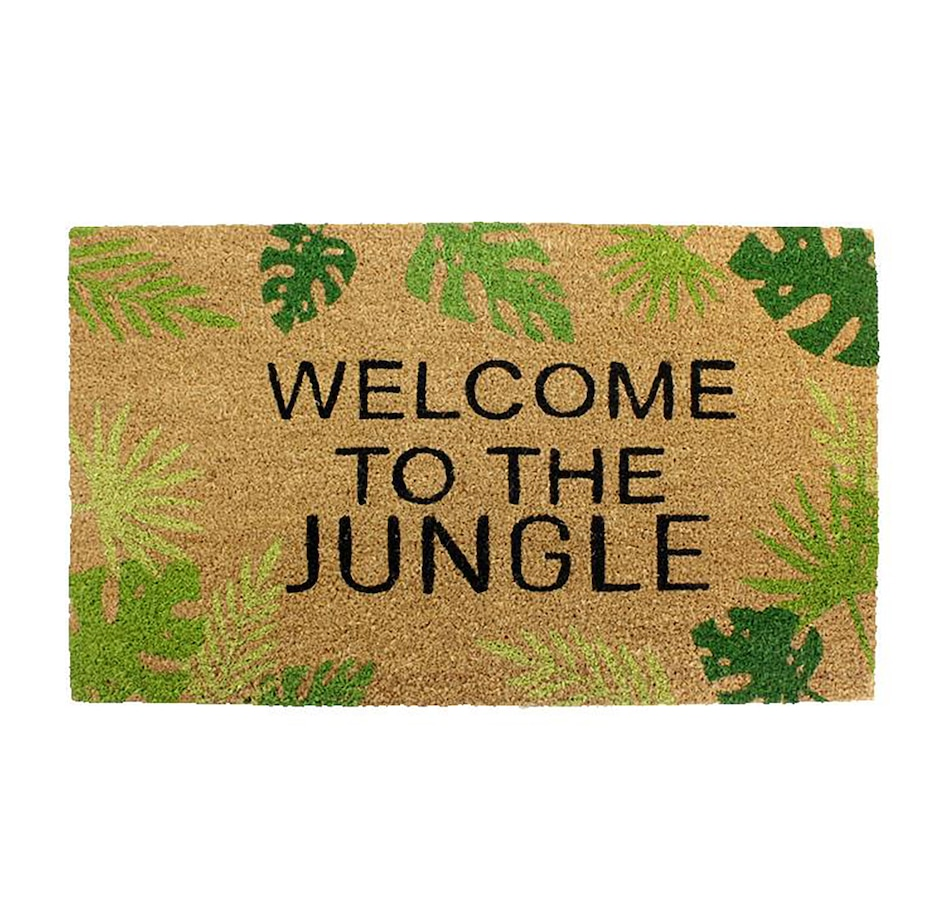 Image 662437.jpg , Product 662-437 / Price $32.00 , Koppers Home Welcome to the Jungle Doormat from Koppers on TSC.ca's Home & Garden department