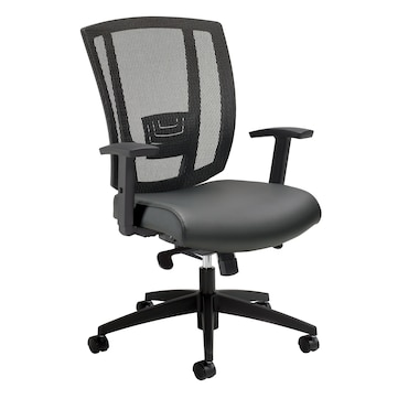 Offices to Go Mesh Back Synchro Tilter Chair (charcoal)