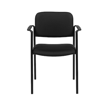 Offices to Go Stacking Armchair, Upholstered