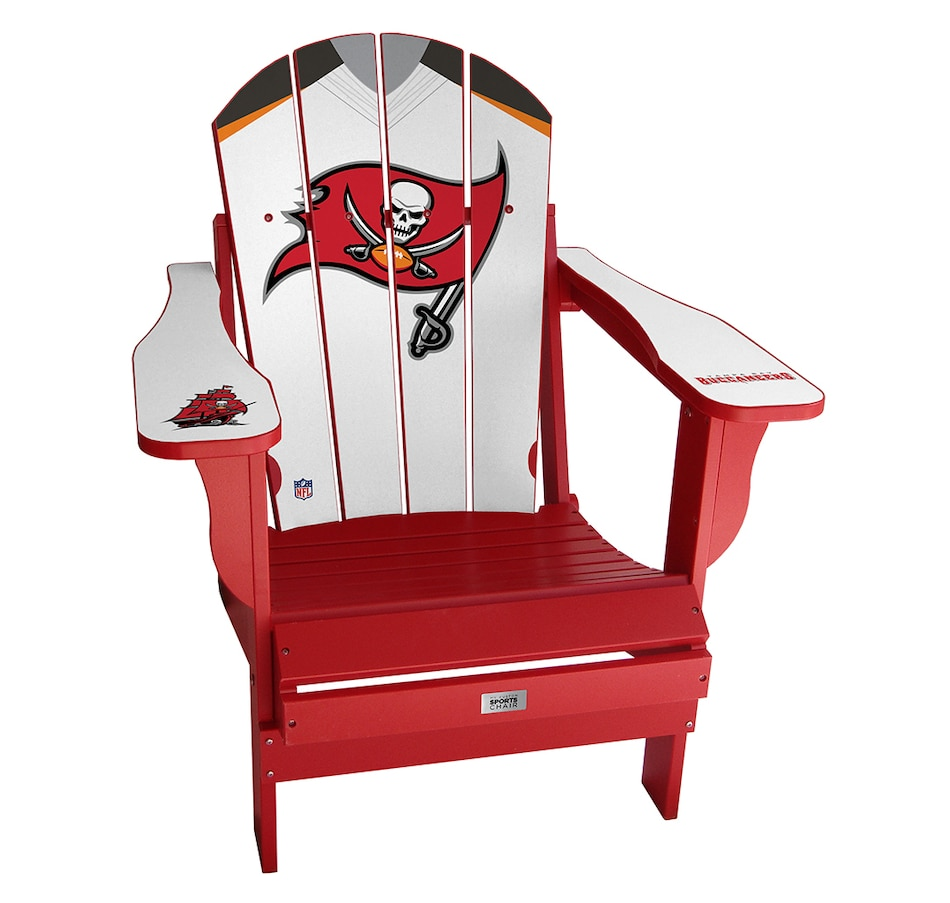 Image 662977_AWA.jpg , Product 662-977 / Price $339.00 , Tampa Bay Buccaneers - Adirondack-Style Sports Chair from My Custom Sports Chair on TSC.ca's Sports department