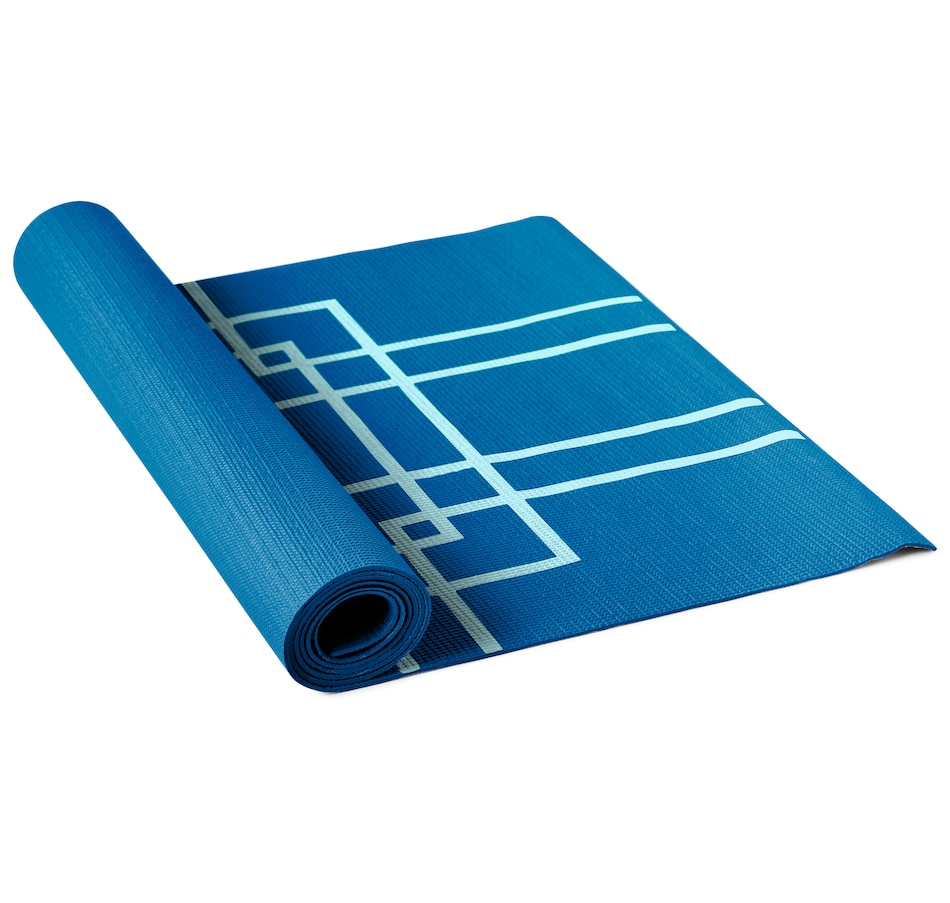 Image 663700_BLU.jpg , Product 663-700 / Price $32.50 , Lotus Alignment Yoga Mat from Lotus on TSC.ca's Health & Fitness department