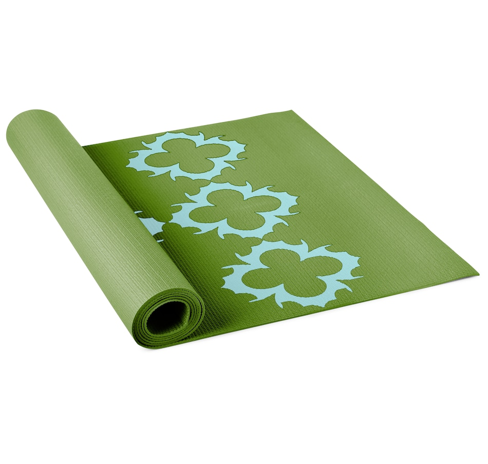 Image 663700_GRN.jpg , Product 663-700 / Price $32.50 , Lotus Alignment Yoga Mat from Lotus on TSC.ca's Health & Fitness department