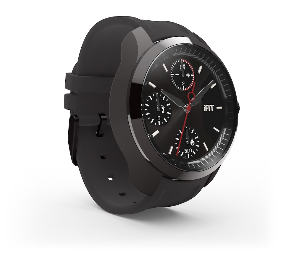 Image 663717.jpg , Product 663-717 / Price $259.00 , iFit CLASSIC - Men's Watch and Fitness Tracker – Graphite from iFit on TSC.ca's Health & Fitness department