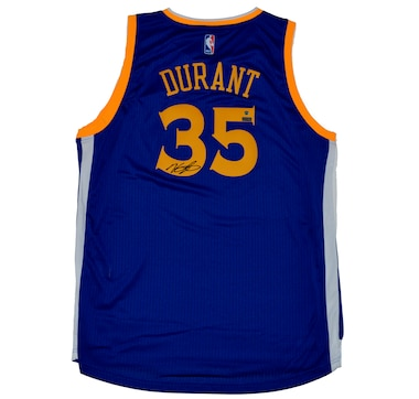 Autographed Kevin Durant Golden State Warriors Swingman Jersey