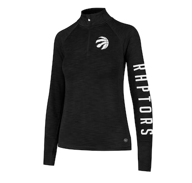 Ladies' Toronto Raptors NBA Forward Microlite Shade 1/4 Zip