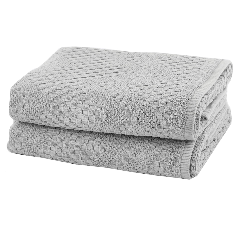 Image 664084_SIL.jpg , Product 664-084 / Price $56.00 , Royal Doulton Eton 2-Piece Bath Towel Set from Royal Doulton Bedding & Bath on TSC.ca's Home & Garden department