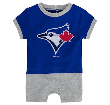 Toronto Blue Jays Infant Base Runner Romper