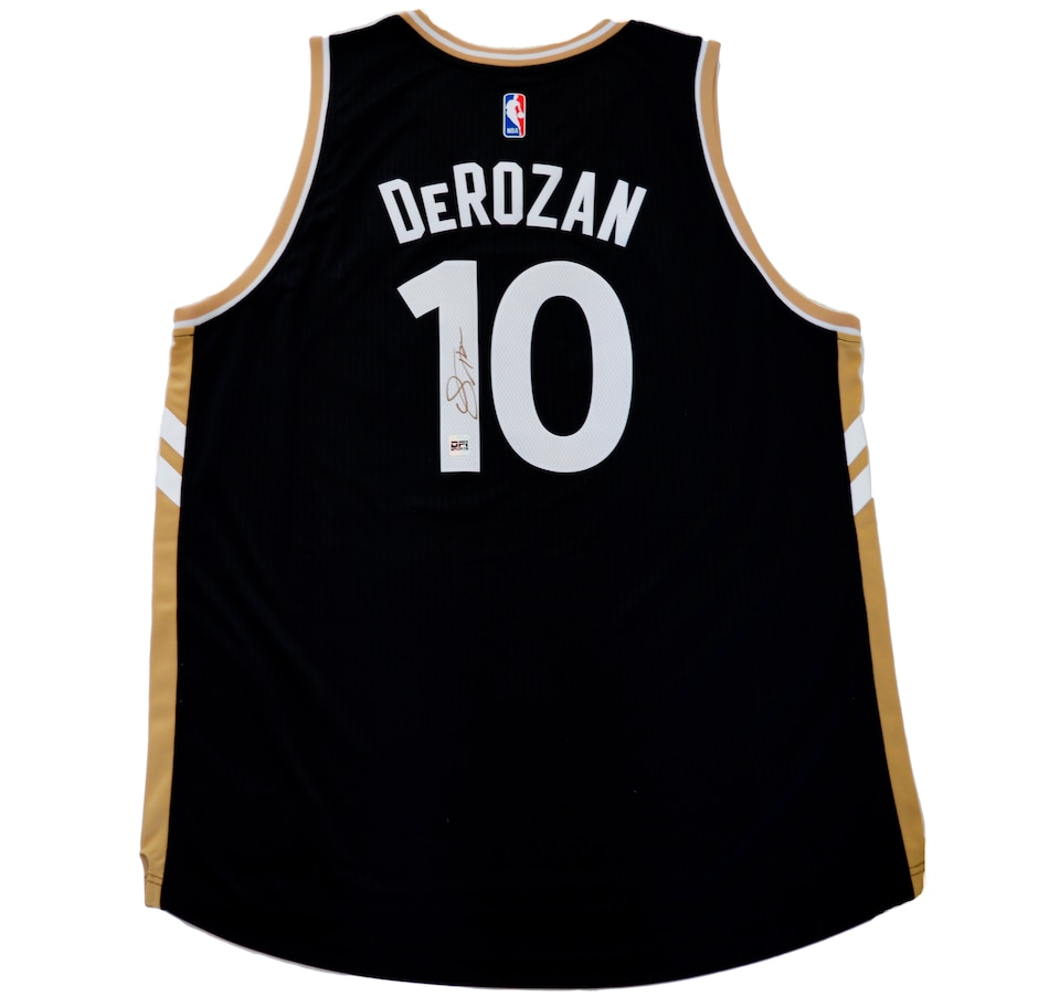 Image 664327.jpg , Product 664-327 / Price $499.99 , Autographed Demar Derozan 2017 Toronto Raptors OVO Swingman Jersey from Adidas on TSC.ca's Health & Fitness department