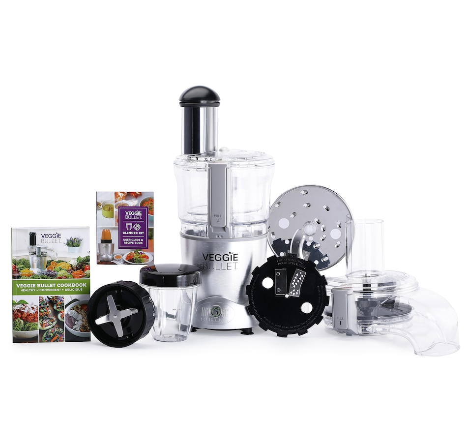 Image 664377.jpg , Product 664-377 / Price $199.99 , Veggie Bullet 3-in-1 Machine with Blender Kit from Veggie Bullet on TSC.ca's Kitchen department