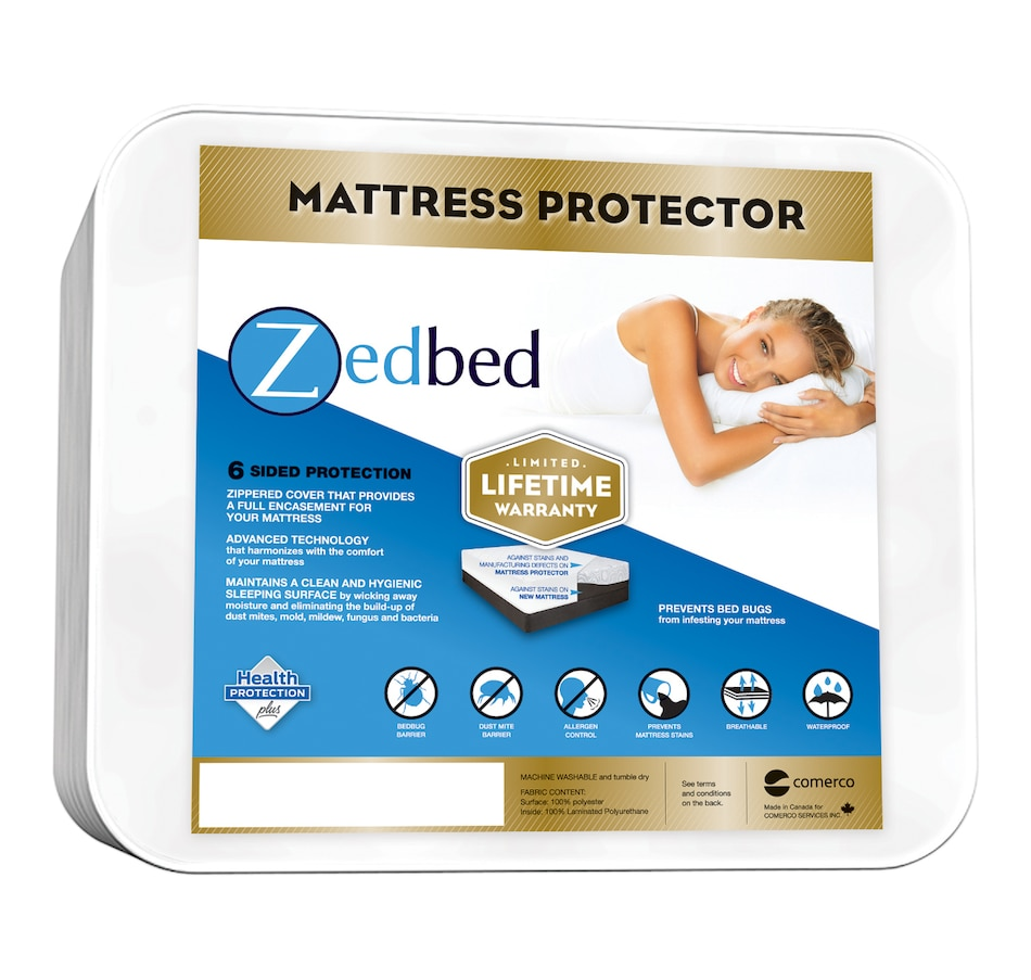 Image 664466.jpg , Product 664-466 / Price $89.99 - $139.99 , Zedbed Total Encasement Mattress Protector from Zedbed on TSC.ca's Home & Garden department