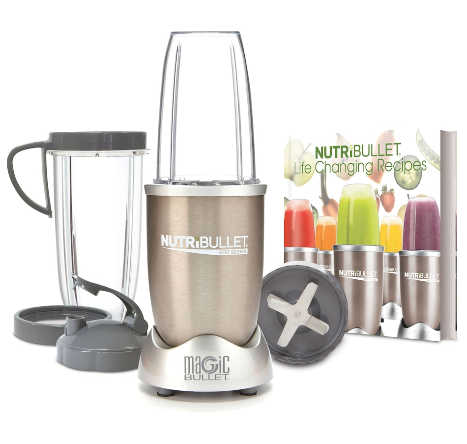 Image 664655.jpg , Product 664-655 / Price $129.99 , NutriBullet 900 9-Piece Set with Life-Changing Recipes Book from NutriBullet on TSC.ca's Kitchen department