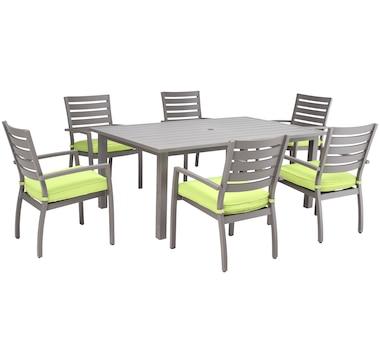 Southampton Rectangular Dining Set - 7 Piece