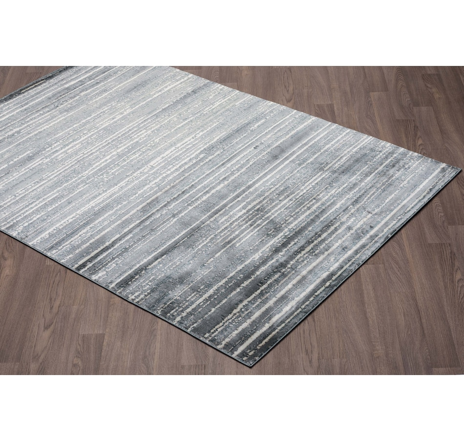 Image 664933.jpg , Product 664-933 / Price $249.99 - $499.99 , Viana Murano Modern Dark Grey Soft Pile Rug from Viana Inc on TSC.ca's Home & Garden department