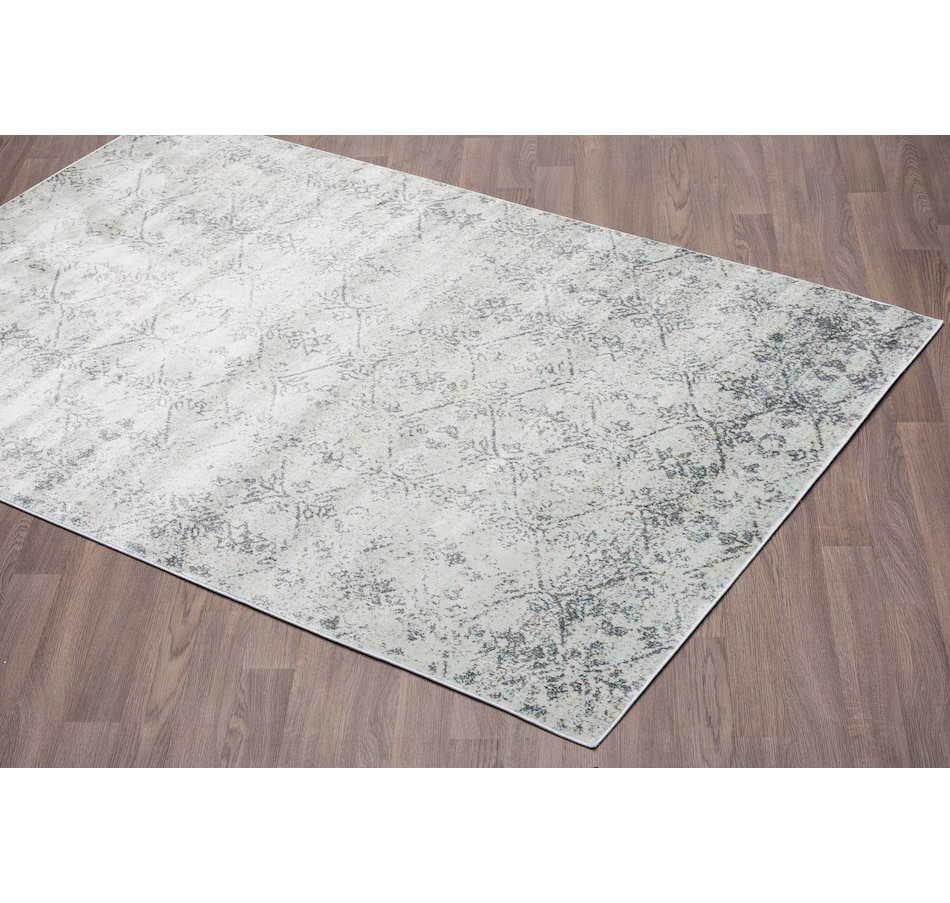 Image 664934.jpg , Product 664-934 / Price $12.99 - $175.99 , Viana Murano Modern Abstract Grey Soft Pile Rug from Viana Inc on TSC.ca's Home & Garden department