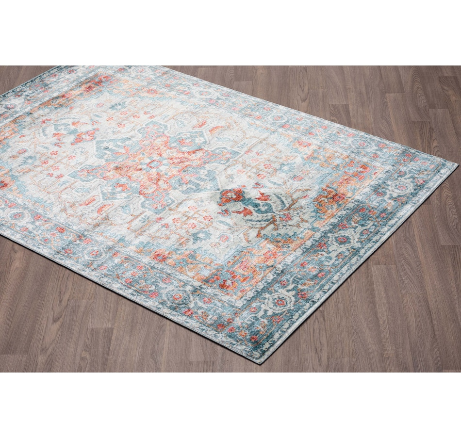 Image 664940.jpg , Product 664-940 / Price $87.99 , Viana Venesia Vintage Multi-Colored Soft Pile Rug from Viana Inc on TSC.ca's Home & Garden department