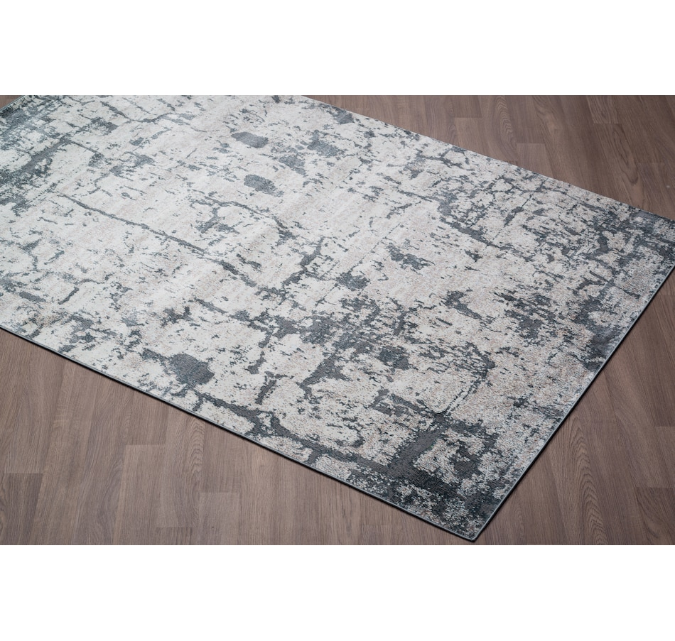 Image 664942.jpg , Product 664-942 / Price $87.99 , Viana Murano Mordern Abstract Grey Soft Pile Rug from Viana Inc on TSC.ca's Home & Garden department