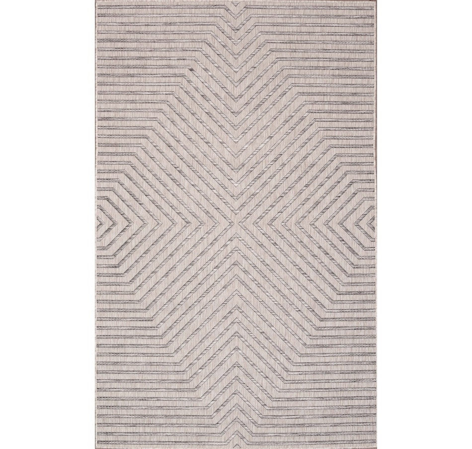 Image 665057.jpg , Product 665-057 / Price $85.95 - $219.95 , Carnival Indoor/Outdoor Polypropylene Light Grey Rug from Viana Inc on TSC.ca's Home & Garden department