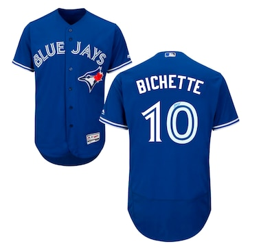 Bo Bichette Signed Jersey Blue Jays Replica Blue