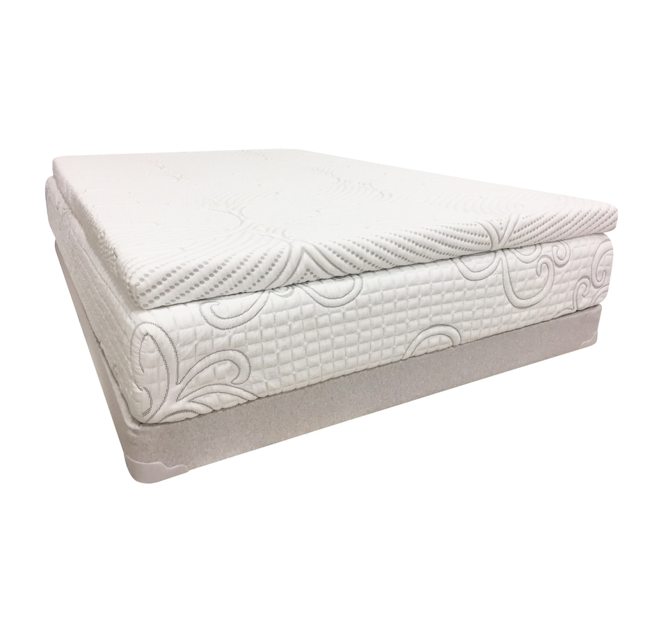 "Image 665501.jpg , Product 665-501 / Price $259.99 - $459.99 , Zedbed 3"" Foam Topper With Cooling Fabric Cover from Zedbed on TSC.ca's Home & Garden department"