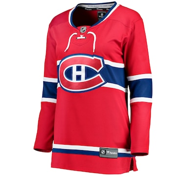 Women's Montreal Canadiens NHL Fanatics Breakaway Home Jersey