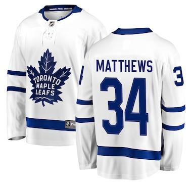 Auston Matthews Toronto Maple Leafs NHL Fanatics Breakaway Away Jersey