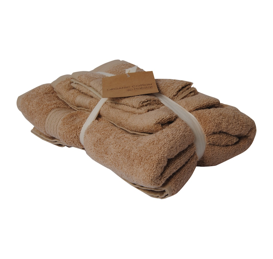 Image 665595.jpg , Product 665-595 / Price $29.99 , Habitat Luxury Home Collection Towel Set 600 GSM Organic Cotton Solid Taupe from Textile City on TSC.ca's Home & Garden department