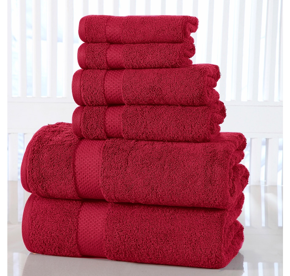 Image 665612_GARRD.jpg , Product 665-612 / Price $119.99 , Casa Platino 100% Cotton Luxury 6 Piece Bath Towel Set  on TSC.ca's Home & Garden department