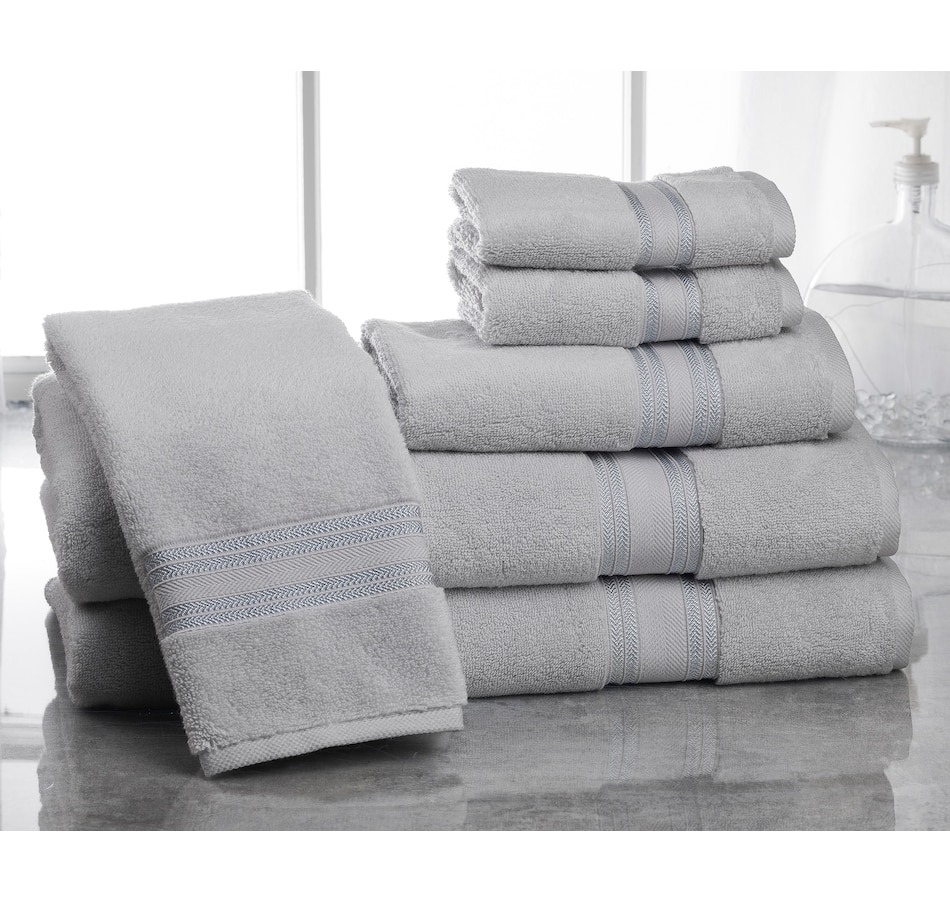 Image 665617_GCRG.jpg , Product 665-617 / Price $123.99 , Lezeth Collection 100% Zero Twist Cotton 6-Piece Bath Towel Set  on TSC.ca's Home & Garden department