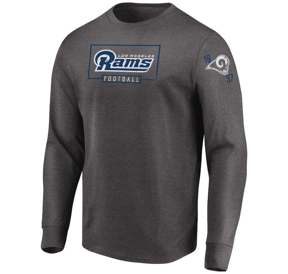 Image 665747.jpg , Product 665-747 / Price $44.99 , Los Angeles Rams NFL Kick Return Long-Sleeve Tee from Majestic on TSC.ca's Sports department