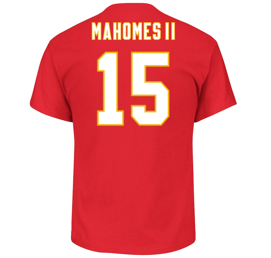 Image 665814.jpg , Product 665-814 / Price $39.99 , Patrick Mahomes Kansas City Chiefs NFL Eligible Receiver III T-Shirt from Majestic on TSC.ca's Sports department