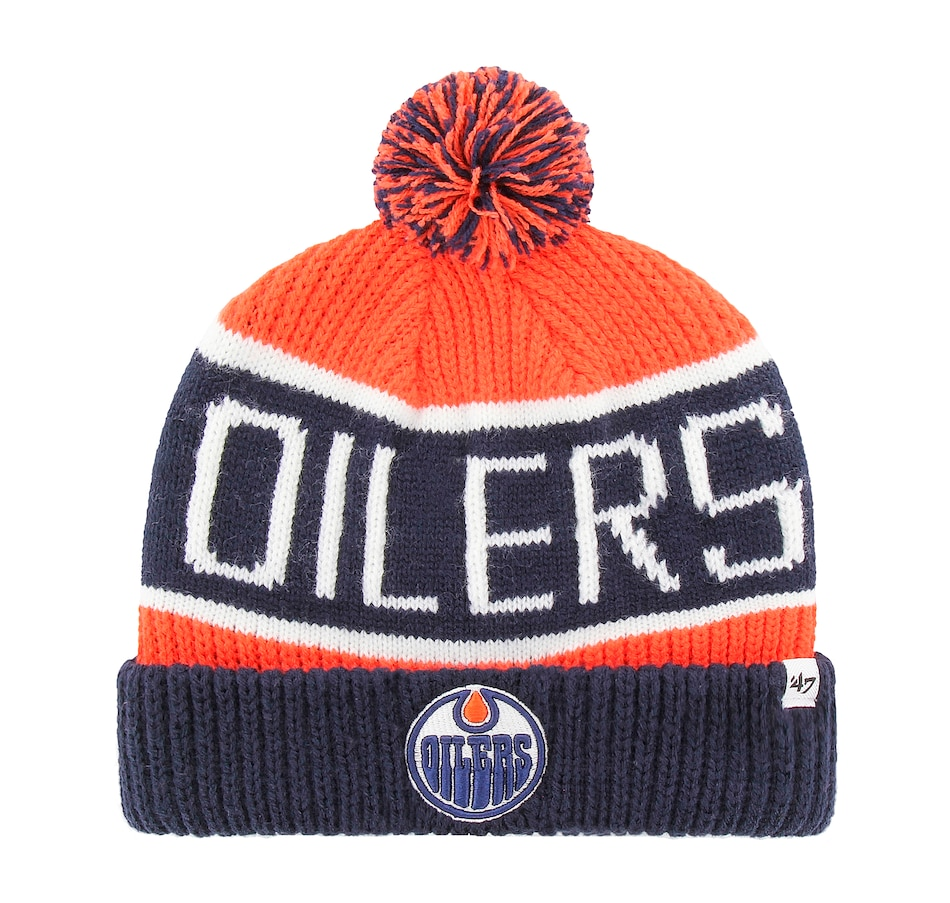Image 665846.jpg , Product 665-846 / Price $34.99 , Edmonton Oilers NHL City Cuffed Knit Toque from 47 Brand on TSC.ca's Sports department