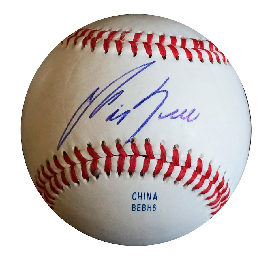 Image 666011.jpg , Product 666-011 / Price $149.99 , Frameworth George Bell Signed Baseball Blue Jays from Frameworth on TSC.ca's Sports department