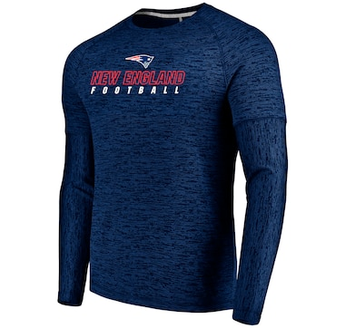 New England Patriots NFL Ultra Streak Long-Sleeve Pullover