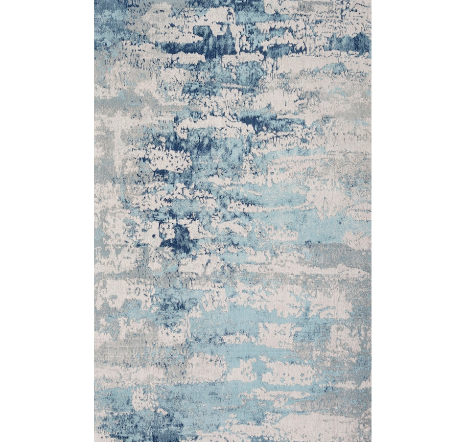 Image 666154.jpg , Product 666-154 / Price $23.00 - $310.00 , Viana Vestige Hand Made Cotton Palazzo Blue Rug from Viana Inc on TSC.ca's Home & Garden department
