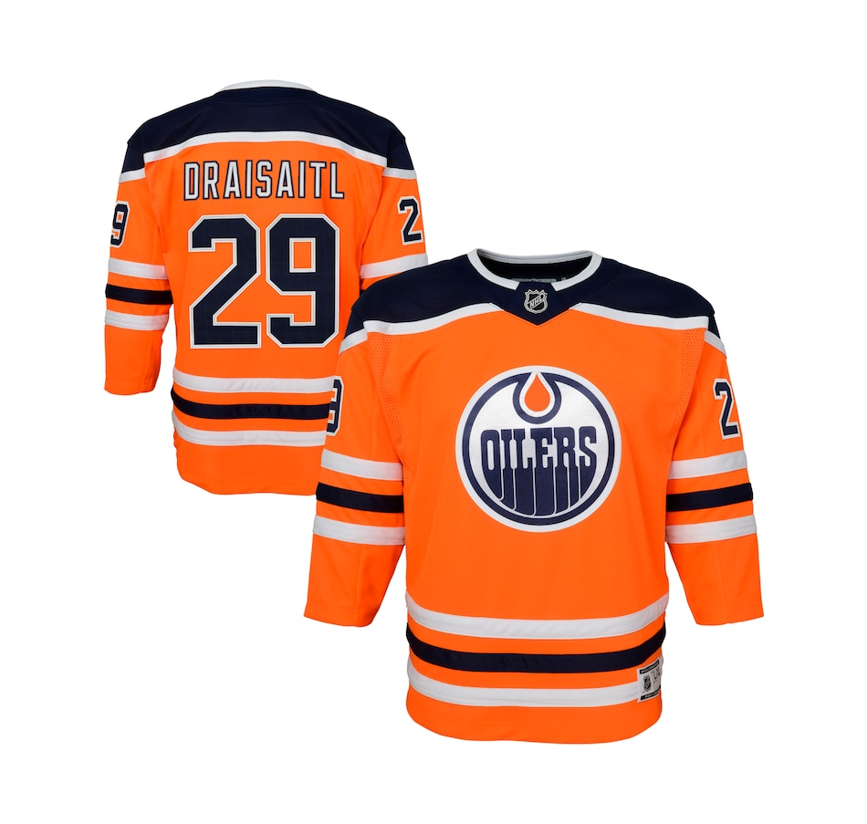 Image 666671.jpg , Product 666-671 / Price $139.99 , Youth Leon Draisaitl Edmonton Oilers NHL Premier Team Jersey  on TSC.ca's Sports department
