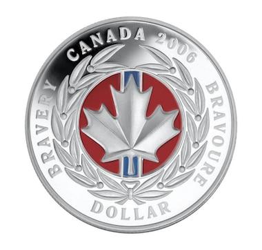 2006 Fine Silver $1 Medal of Bravery