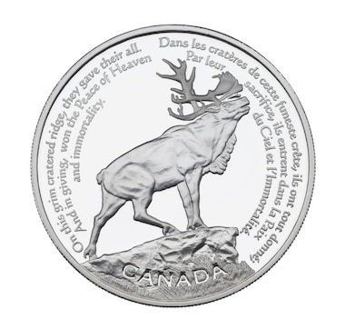 $30 Sterling Silver Coin Beaumont-Hamel Newfoundland Memorial 2006
