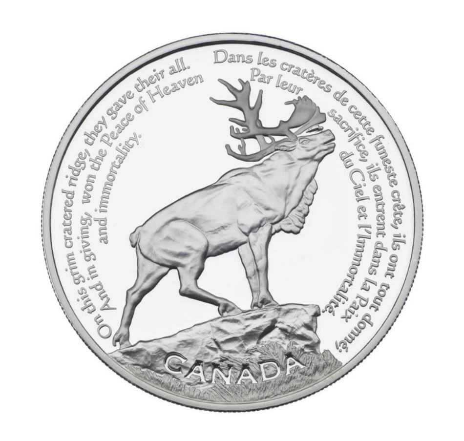 Image 667451.jpg , Product 667-451 / Price $99.95 , $30 Sterling Silver Coin Beaumont-Hamel Newfoundland Memorial 2006 from Royal Canadian Mint on TSC.ca's Coins department