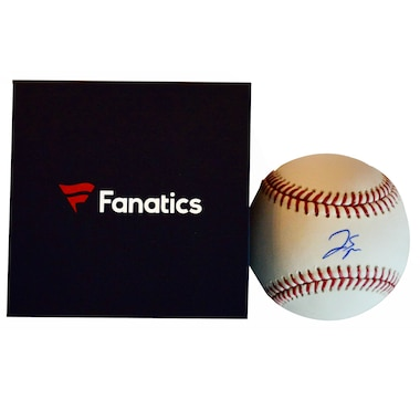 Fanatics Authentic George Springer Toronto Blue Jays Autographed Major League Baseball