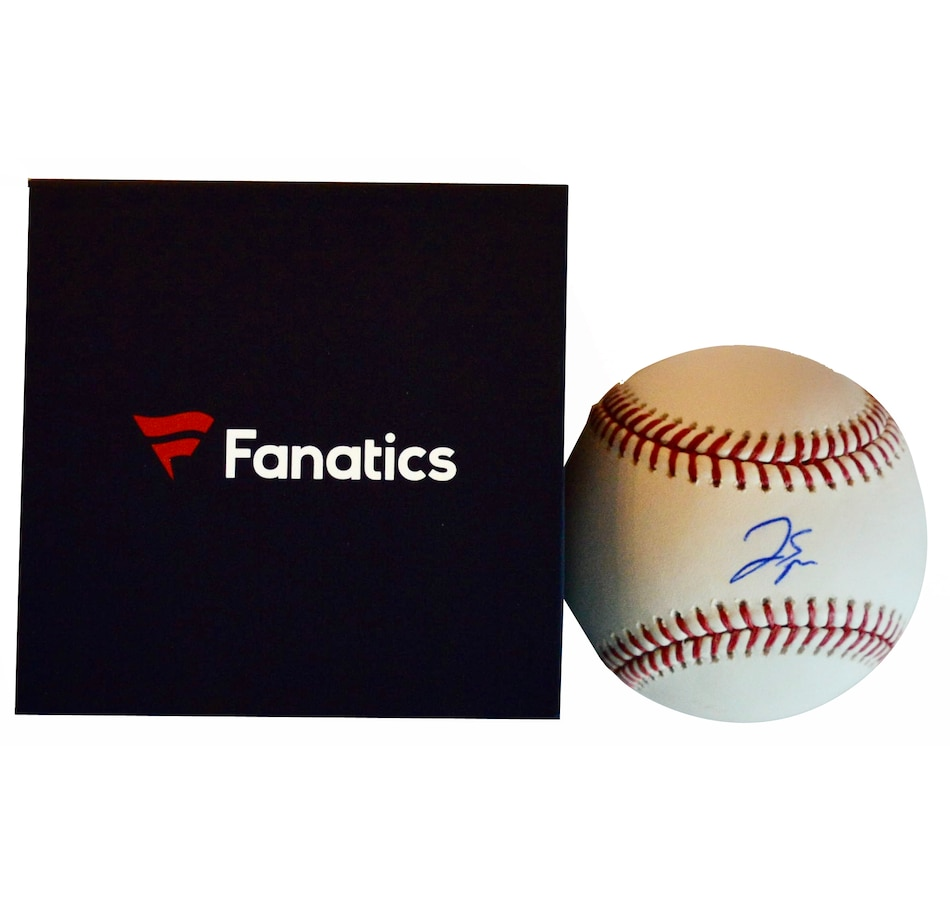 Image 667890.jpg , Product 667-890 / Price $336.99 , Fanatics Authentic George Springer Toronto Blue Jays Autographed Major League Baseball from DPI Sports on TSC.ca's Sports department
