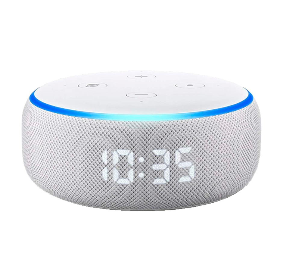 Image 671929.jpg , Product 671-929 / Price $79.99 , Amazon Echo Dot (3rd Gen) Smart Speaker with Clock and Alexa (Sandstone) from Amazon on TSC.ca's Electronics department